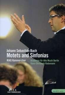 Johann Sebastian Bach (1685-1750): Motetten BWV Anh.159, 225-228, DVD