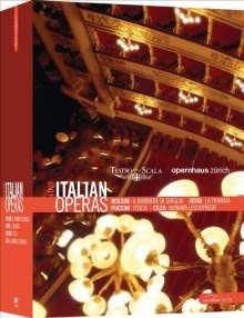Italian Operas, 4 DVDs
