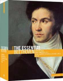 Ludwig van Beethoven (1770-1827): Ludwig van Beethoven - The Essential Beethoven, 4 DVDs