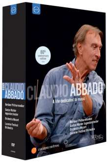 Claudio Abbado  - A life dedicated to music, 8 DVDs