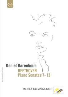 Ludwig van Beethoven (1770-1827): Klaviersonaten Nr.7-13, DVD