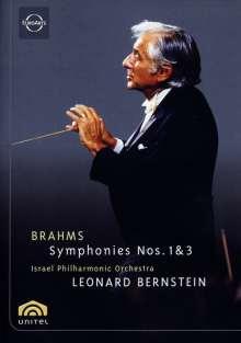Johannes Brahms (1833-1897): Symphonien Nr.1 & 3, DVD