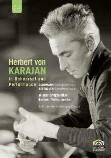 Herbert von Karajan in Probe & Konzert, DVD