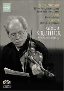 Gidon Kremer spielt Violinkonzerte, DVD