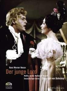 Hans Werner Henze (1926-2012): Der junge Lord, DVD