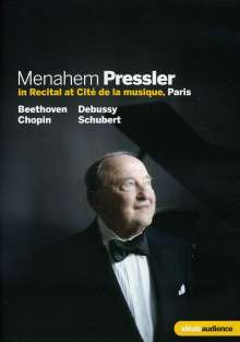 Menahem Pressler in Recital at Cité de la musique in Paris, DVD