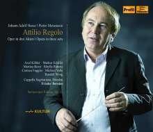 Johann Adolph Hasse (1699-1783): Attilio Regolo, 3 CDs