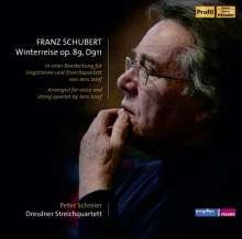 Franz Schubert (1797-1828): Winterreise D.911 (für Tenor & Streichquartett), CD