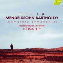 Felix Mendelssohn Bartholdy (1809-1847): Symphonien Nr.1-5, 6 CDs