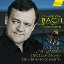 Johann Sebastian Bach (1685-1750): Violinkonzerte BWV 1041,1042,1052,1060, CD