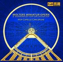 Johann Melchior Molter (1696-1765): Kantaten (Miniatur-Opern), CD