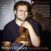 Petteri Iivonen - Art of the Violin, CD