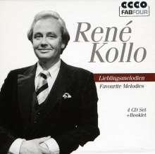 Rene Kollo - Lieblingsmelodien, 4 CDs