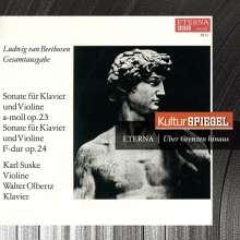 Ludwig van Beethoven (1770-1827): Violinsonaten Nr.4,5,9, CD