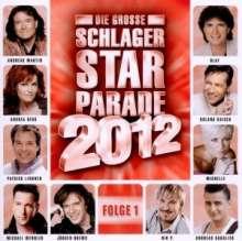 Die große Schlager Starparade 2012 Folge 1, CD
