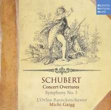 Franz Schubert (1797-1828): Konzertouvertüren, CD
