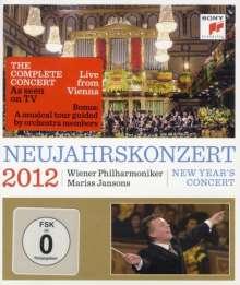 Das Neujahrskonzert Wien 2012, Blu-ray Disc