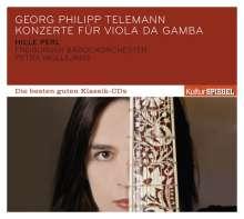 Georg Philipp Telemann (1681-1767): Gambenkonzerte, CD