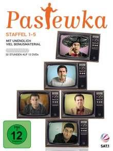 Bastian Pastewka: Staffel 1 - 5, 12 DVDs
