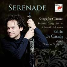 Fabio di Casola - Serenade (Songs for Clarinet), CD