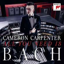 Cameron Carpenter - All you need is Bach, CD