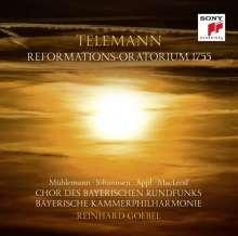 """Georg Philipp Telemann (1681-1767): Reformations-Oratorium 1755 """"Holder Friede, Heil'ger Glaube"""" TWV 13:18, CD"""