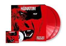 Hämatom: Bestie der Freiheit (Limited-Edition) (Red Vinyl), 2 LPs