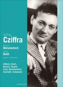 György Cziffra/Benno Moiseiwitsch/Jorge Bolet, DVD