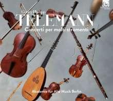 Georg Philipp Telemann (1681-1767): Concerti per molti stromenti, CD