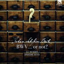 Johann Sebastian Bach, BWV... or not?, CD