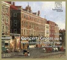 Georg Friedrich Händel (1685-1759): Concerti grossi op.6 Nr.1-12, 2 CDs