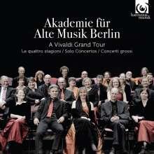 Akademie für Alte Musik Berlin - A Vivaldi Grand Tour, 3 CDs