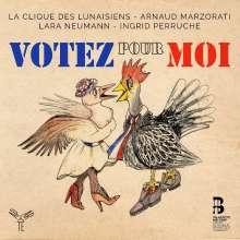 La Clique des Lunaisiens - Votez pour Moi!, CD