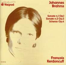 Johannes Brahms (1833-1897): Klavierson.1 & 2/Scherz, CD