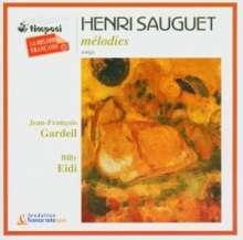 Henri Sauguet (1901-1989): Lieder, CD