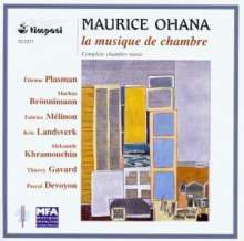 Maurice Ohana (1914-1992): Kammermusik, CD