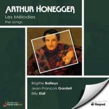 Arthur Honegger (1892-1955): Sämtliche Klavierlieder, CD