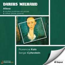 Darius Milhaud (1892-1974): Lieder, CD