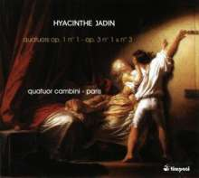 Hyacinthe Jadin (1769-1800): Streichquartette op.1 Nr.1 & op.3 Nr.1 & 3, CD