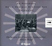 Un Panorama de la Musique Symphonique Francaise, 4 CDs