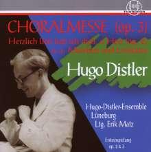 Hugo Distler (1908-1942): Chorwerke, CD