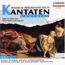 Wilhelm Friedemann Bach (1710-1784): Kantaten Vol.2, CD