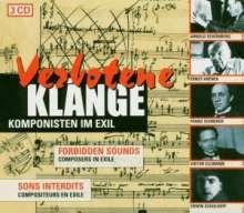 Verbotene Klänge - Komponisten im Exil, 3 CDs