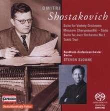 Dimitri Schostakowitsch (1906-1975): Jazz-Suiten Nr.1, SACD