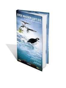 Erde, Wasser, Luft, Eis (Blu-ray), 4 Blu-ray Discs