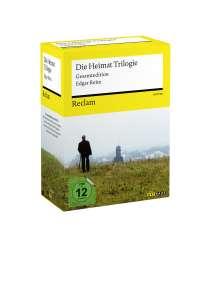 """Heimat 1-3 (Gesamtausgabe incl. """"Drehort Heimat"""") (Reclam Sonderausgabe), 18 DVDs"""
