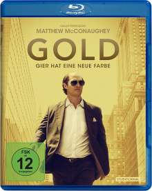 Gold (2016) (Blu-ray), Blu-ray Disc