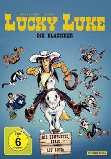 Lucky Luke - Die Klassiker (Komplette Serie im Digipak), 8 DVDs
