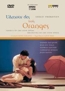 Serge Prokofieff (1891-1953): Die Liebe zu den drei Orangen, DVD
