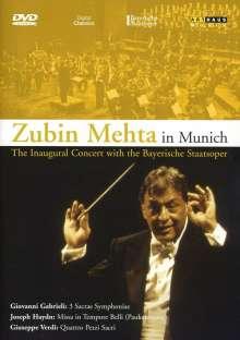 Zubin Mehta in München, DVD